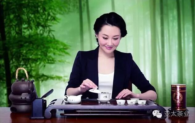 许晴是某品牌茶的代言人