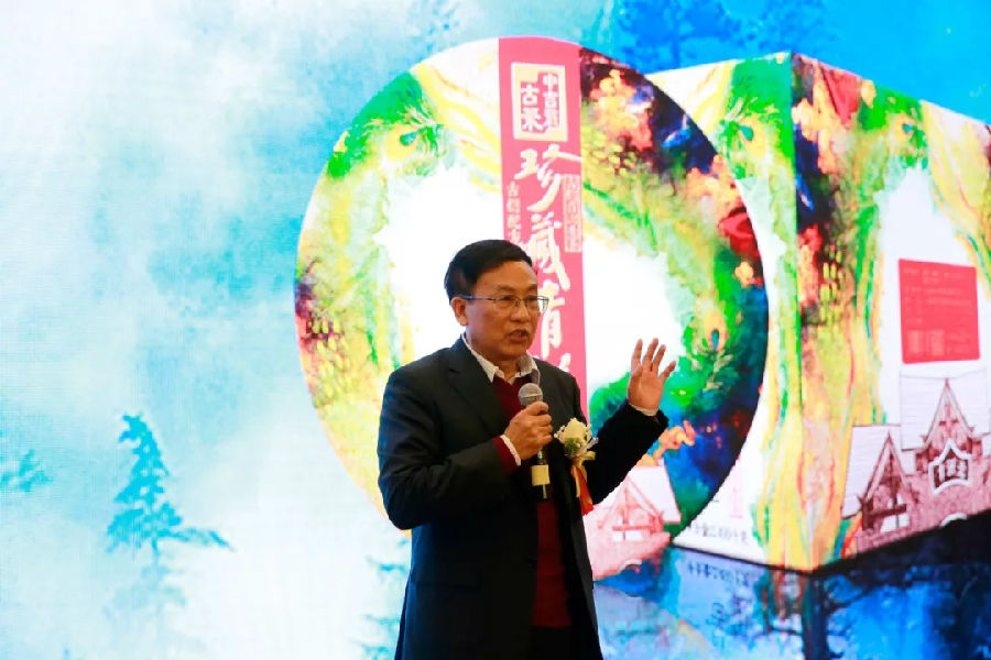 云南省人民政府原副省长、政协副主席、云南省茶叶流通协会创会会长陈勋儒